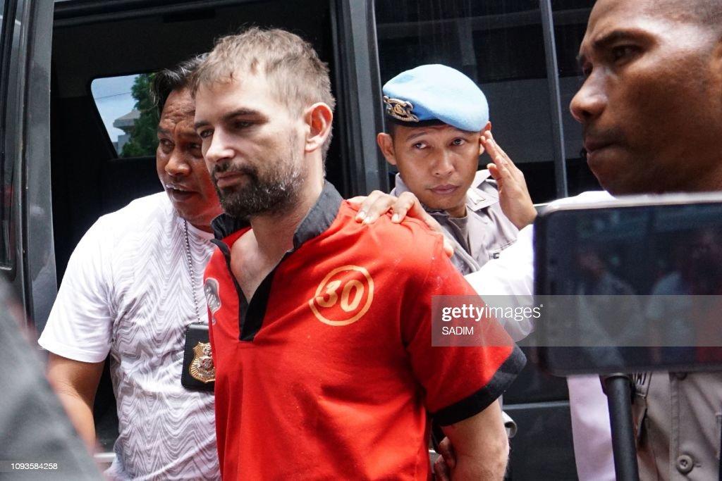 INDONESIA-FRANCE-CRIME-PRISON : Photo d'actualité