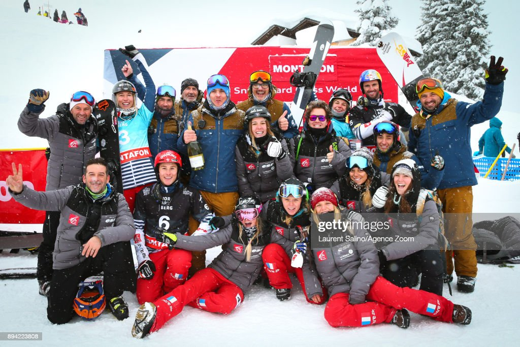 FIS Freestyle Ski World Cup - Men's and Women's Snowboardcross