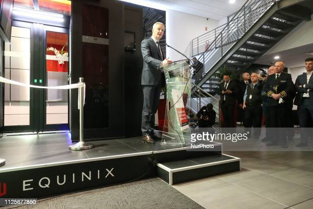 French Economy Minister Bruno Le Maire inaugurated the Paris Equinix Data Center called PA8 the companys first International Business Exchange in the...