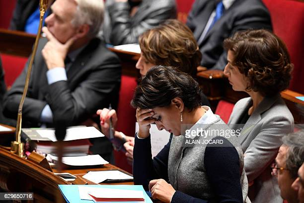 French Education Minister Najat VallaudBelkacem French Culture Minister Audrey Azoulay French Minister for Social Affairs and Health Marisol Touraine...