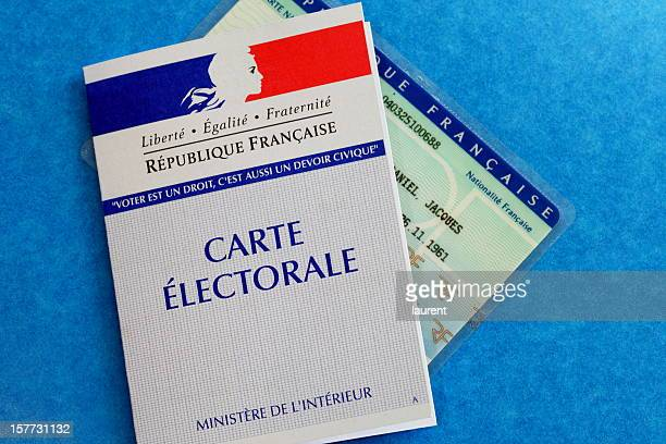 French electoral card
