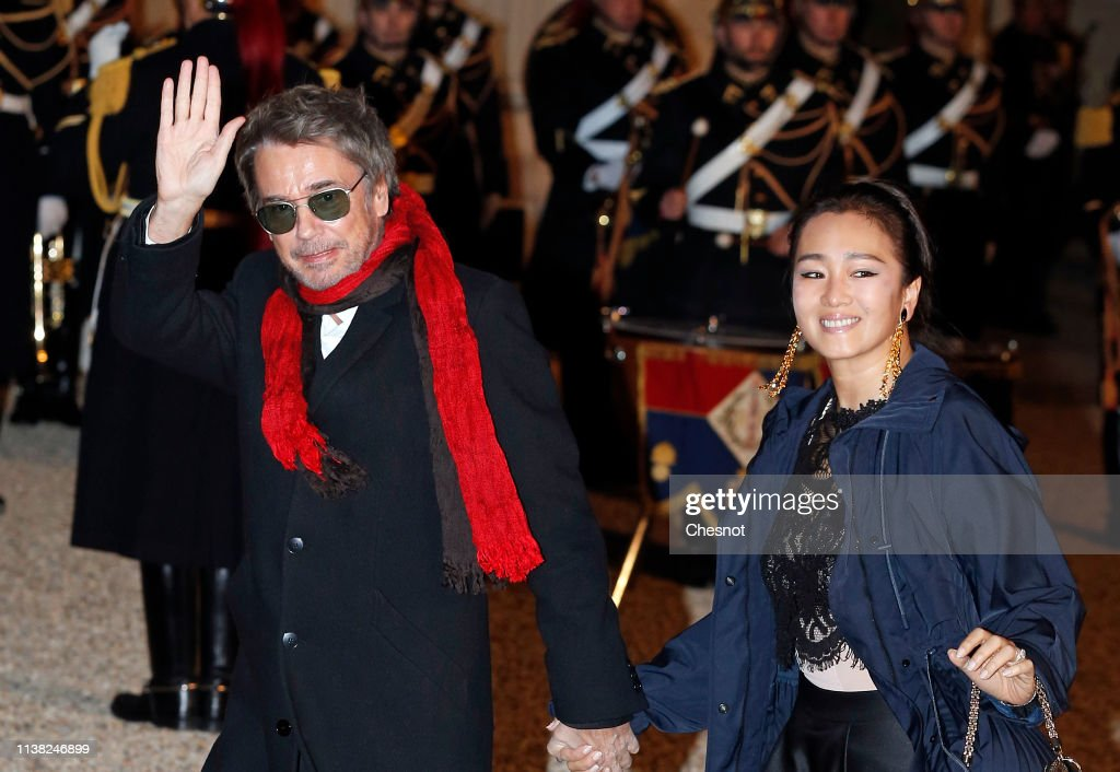 State Dinner In Honor Of Xi Jinping, China's President At Elysee Palace In Paris : News Photo