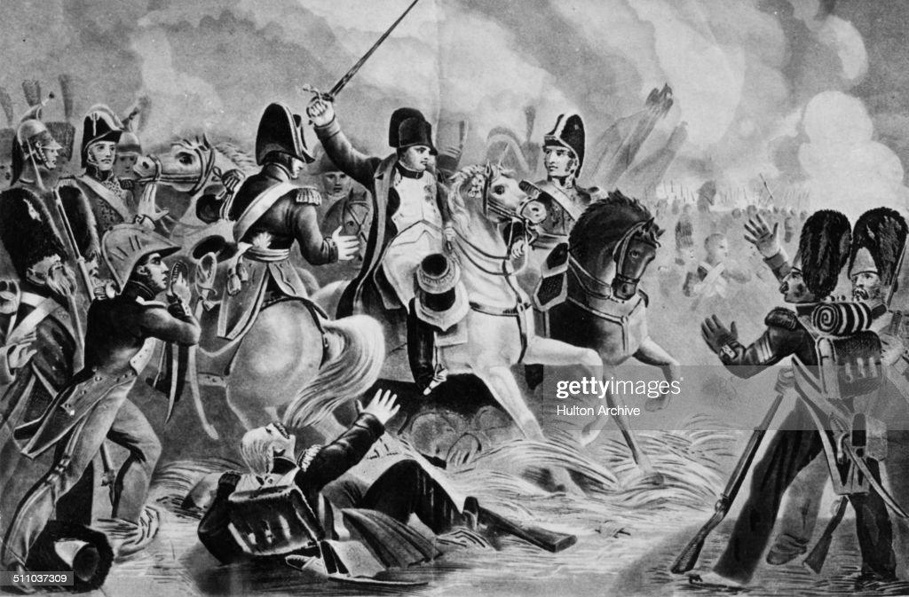 The Battle of Waterloo : News Photo
