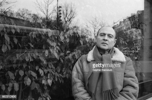 French essayist Gerard Chaliand stands next to a window in Paris He is the head of the European Center for the Study of Conflicts and a specialist in...