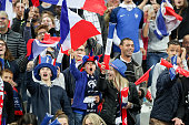 paris france french fans are chanting