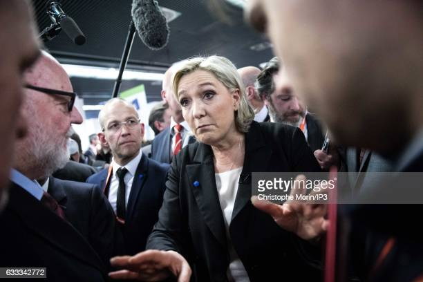 French far right National Front political party leader, member of the European Parliament, and candidate for the 2017 French Presidential Election...