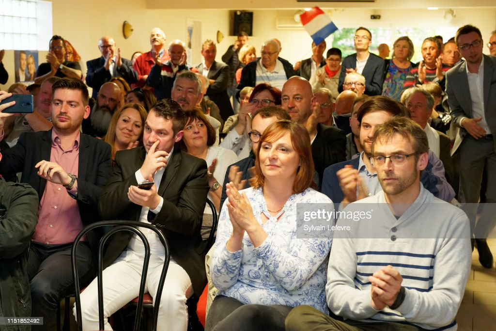 FRA: Rassemblement National (RN) Hosts An Electoral Meeting In Bruay La Buissiere