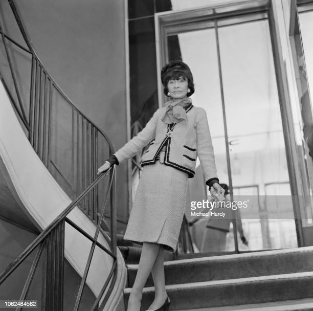 French fashion designer and a businesswoman Coco Chanel in Paris, France, 29th January 1963.