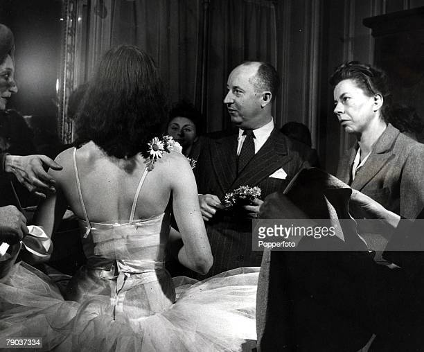 Popperfoto via Getty Images The Book Volume 1 Page 67 Picture 3 1940's A picture of French couturier Christian Dior who designed the costumes for the...