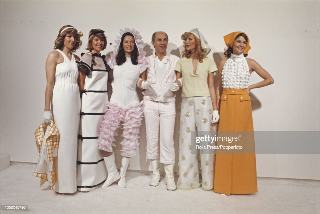 Andre Courreges 1973 Summer Collection : News Photo