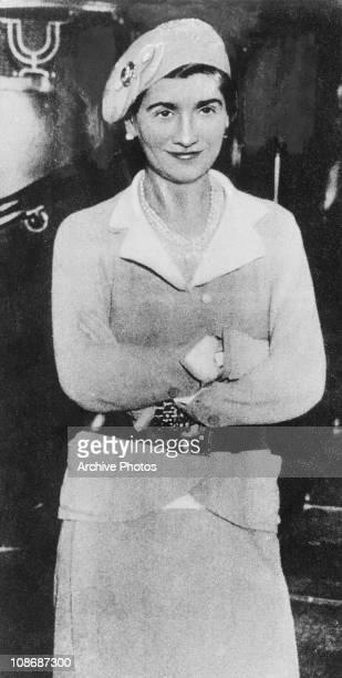 French fashion designer Coco Chanel 1932