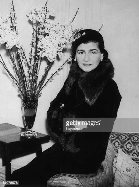 French fashion designer Gabrielle 'Coco' Chanel at a London hotel 1932