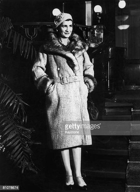 French fashion designer Gabrielle 'Coco' Chanel in New York City, 1932.