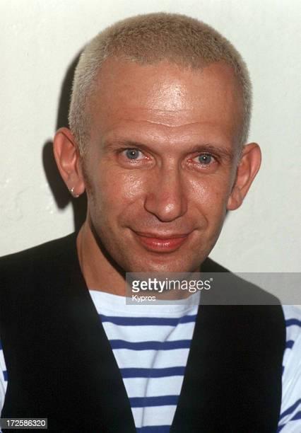 French fashion designer Jean Paul Gaultier circa 1992