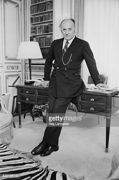 French fashion designer Pierre Balmain , 22nd June 1971.