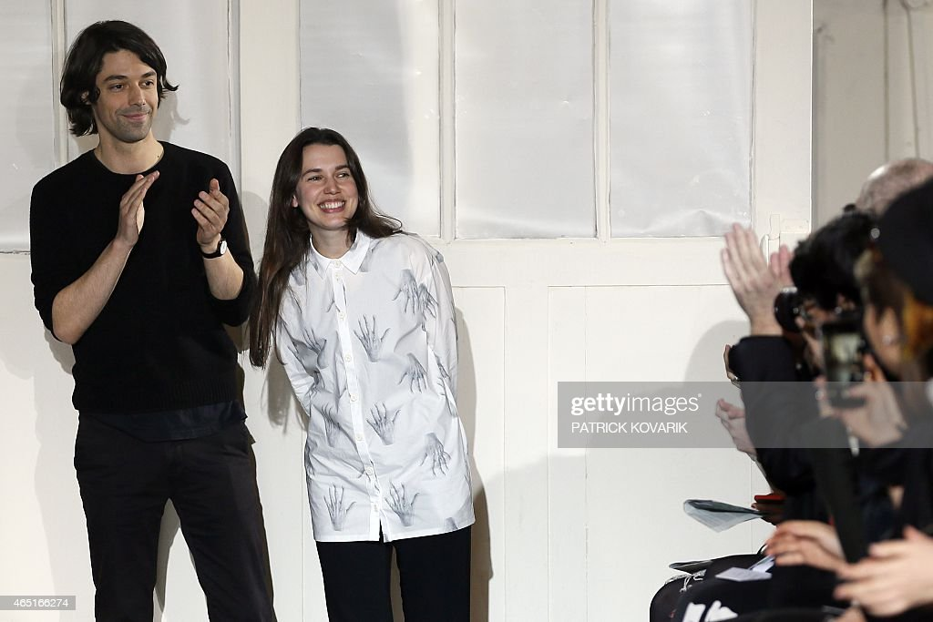 French Fashion Designers Ophelie Klere And Francois Alary For News Photo Getty Images