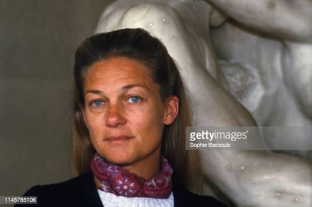 French Feminist Writer and Philosopher Elisabeth Badinter at Musee Rodin