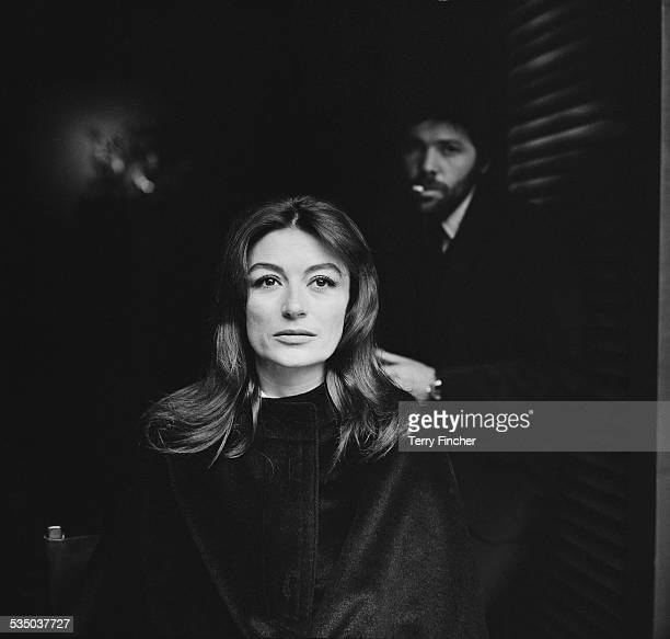 French film actress Anouk Aimée whose award winning film 'Un Homme et une femme' is due to open in London, 16th January 1967.
