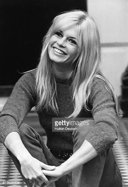 French film actress Brigitte Bardot in 1966.