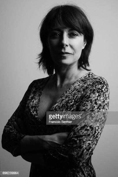 French film director and actress Marilyne Canto is photographed on May 24 2017 in Cannes France