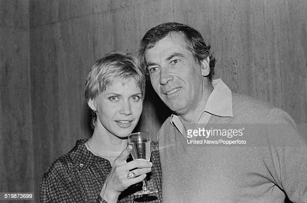 French film director and producer Roger Vadim pictured with American actress Cindy Pickett in London on 2nd January 1980 Cindy Pickett appears in...