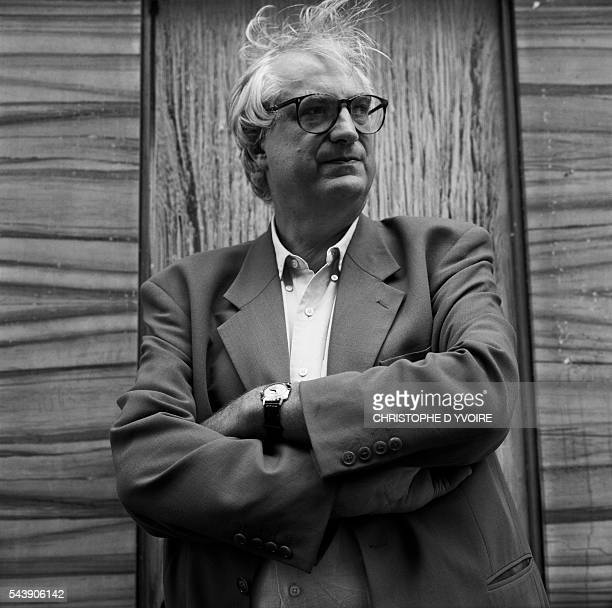French Film Director Bertrand Tavernier