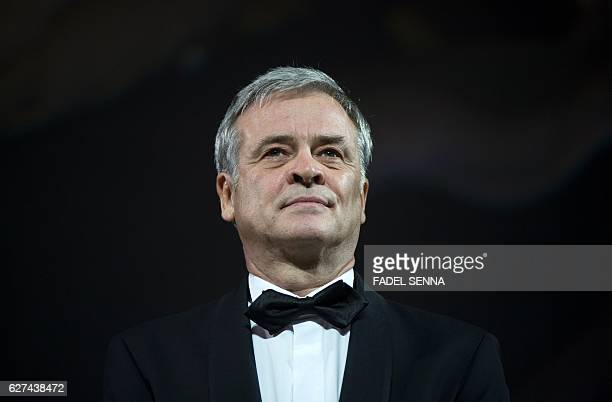 French film director Emmanuel Courcol attends the 16th Marrakech International Film Festival Opening Ceremony on December 3 2016 in Marrakesh / AFP /...