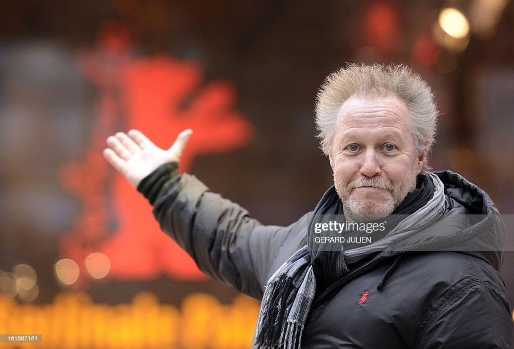 French film director Nicolas Philibert poses in Berlin where he presents his documentary film 'La Maison de la Radio' in the section Panorama of the 63rd Berlin International Film Festival in Berlin on February 11, 2013. 'La Maison de la Radio' is a documentary on French state owned radio station Radio France. JULIEN