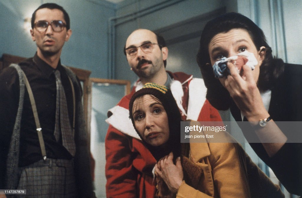 French Film Le Pere Noel Est Une Ordure With Marie Anne Chazel Photo D Actualite Getty Images