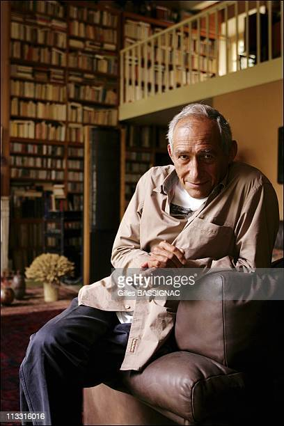 French Film Maker And Screen Writer Alain Corneau On August 24Th 2005 In Paris France