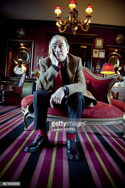 French Filmmaker Pierre Etaix poses for a portrait session on November 13 2010 in Edinburgh in Scotland in United Kingdom
