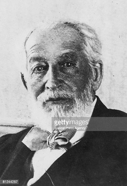 French financier and philanthropist Baron Edmond James de Rothschild circa 1925 Rothchild was an important figure in the Zionist movement founding...