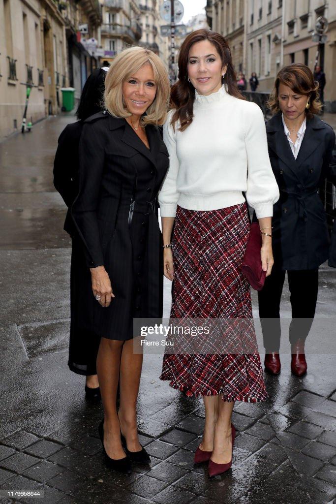 Danish Crown Royal Couple Visit Paris : Day Three : News Photo
