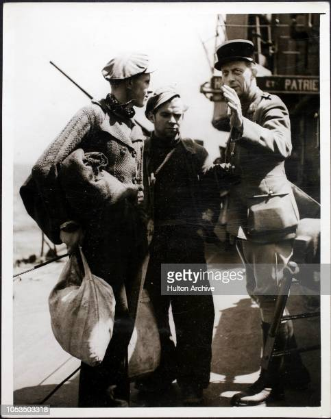 Amazing Pictures of the Evacuation Of Brest These dramatic and exclusive photographs just received in London show how the Allied troops after...