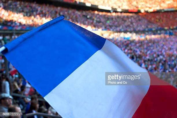 French Flag at Stadium