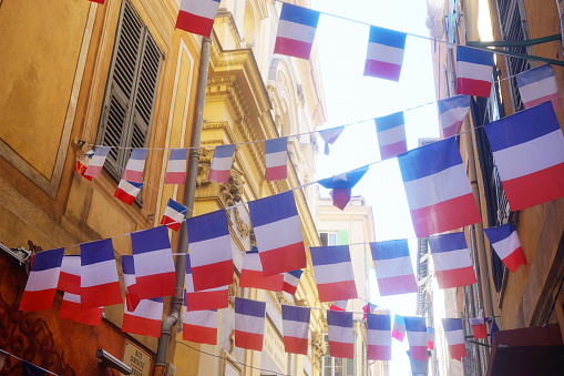 French flag bunting 595337844