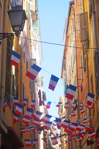French flag bunting 595337858
