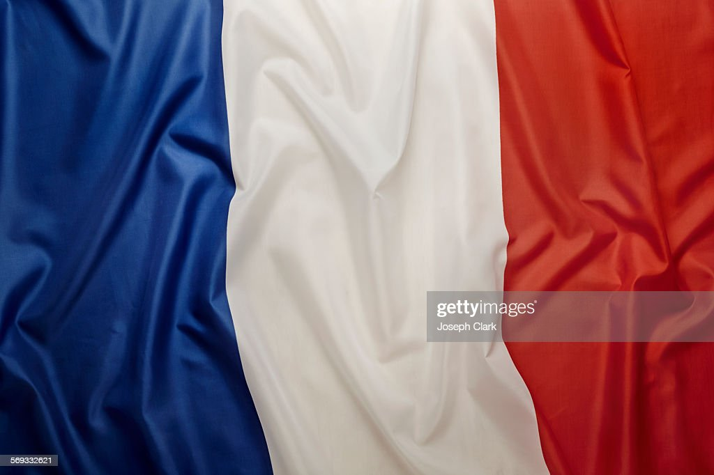 French Flag : Stock Photo