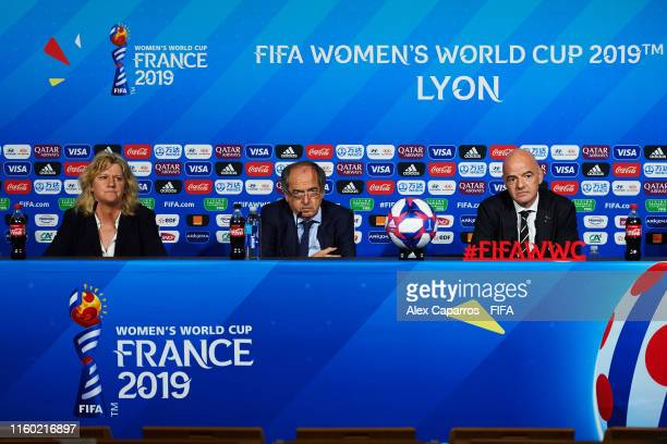 French Football Association and Local Organising Committee VicePresident Brigitte Henriques French Football Association and Local Organising...