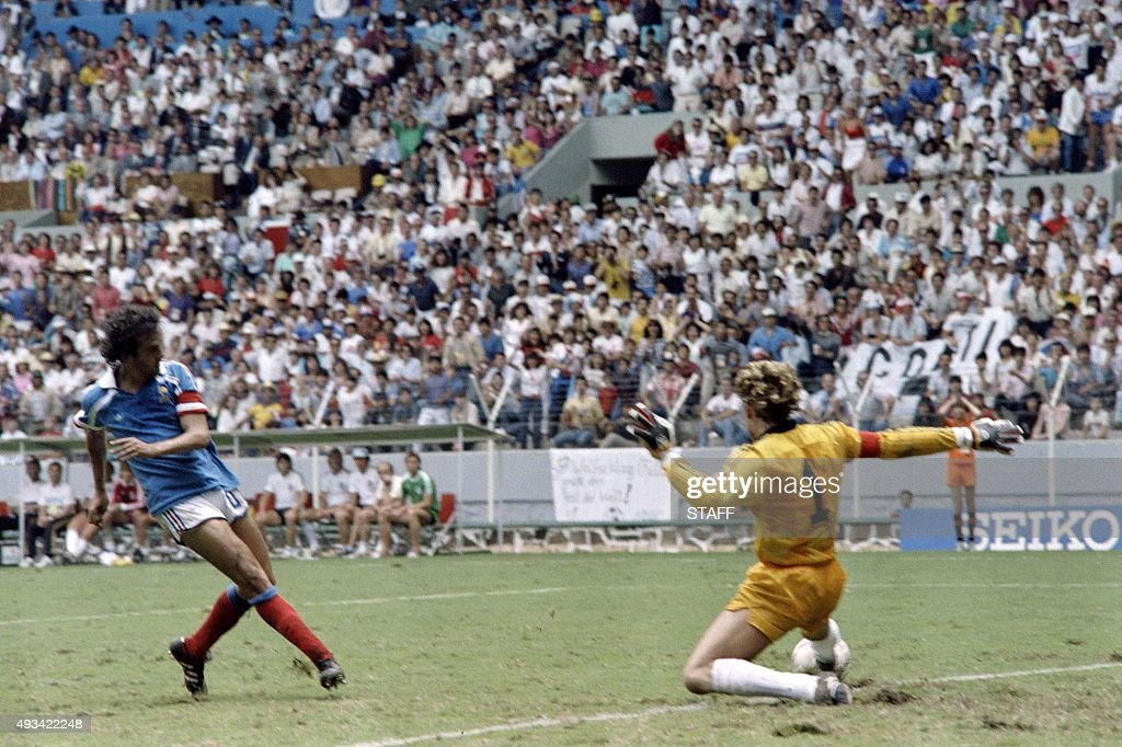 WORLD CUP-1986-FRA-GERMANY : News Photo