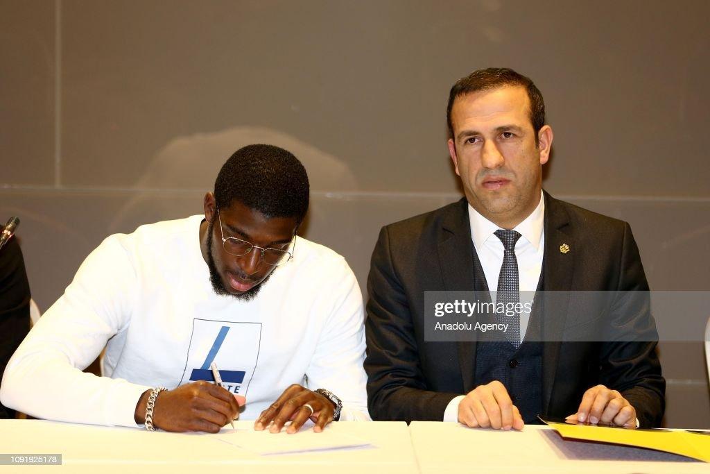 Evkur Yeni Malatyaspor's new transfer Kamara : News Photo