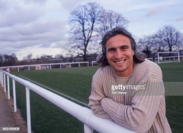 French footballer David Ginola portrait United Kingdom 1999