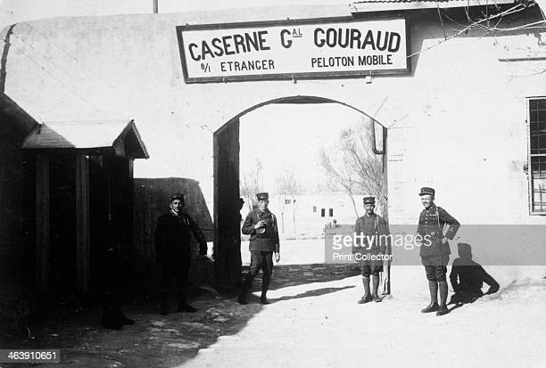 French Foreign Legion barracks 20th century The barracks are named after General Henri Gouraud who commanded the French 4th Army in the First World...