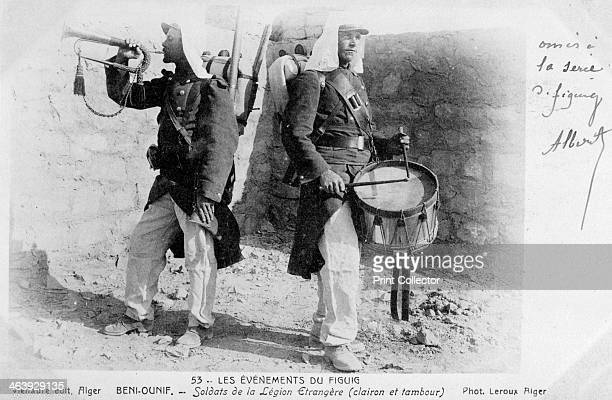 French Foreign Legion Beni Ounif Algeria 1904 French postcard