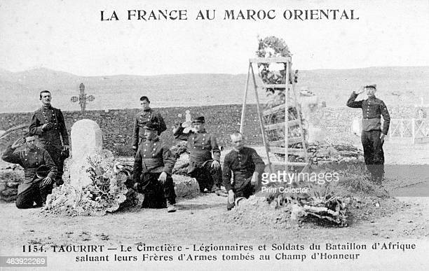 French Foreign Legion cemetery Taourirt Algeria 20th century French postcard