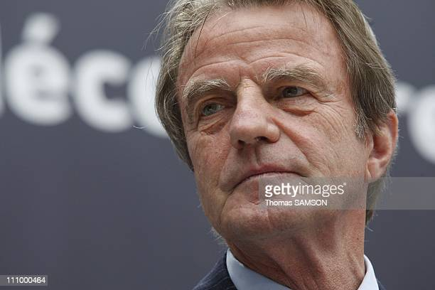 French Foreign Minister Bernard Kouchner and Culture Minister Christine Albanel Launch the European Cultural Season at the Grand Palais in Paris...