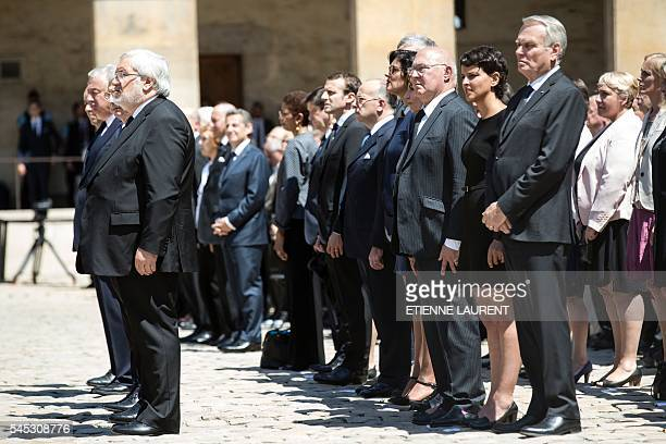 French Foreign Minister JeanMarc Ayrault French Education Minister Najat VallaudBelkacem French Finance Minister Michel Sapin French Minister for...