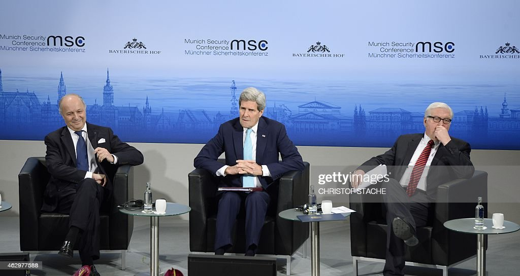 GERMANY-MUNICH-SECURITY-DEFENCE : News Photo