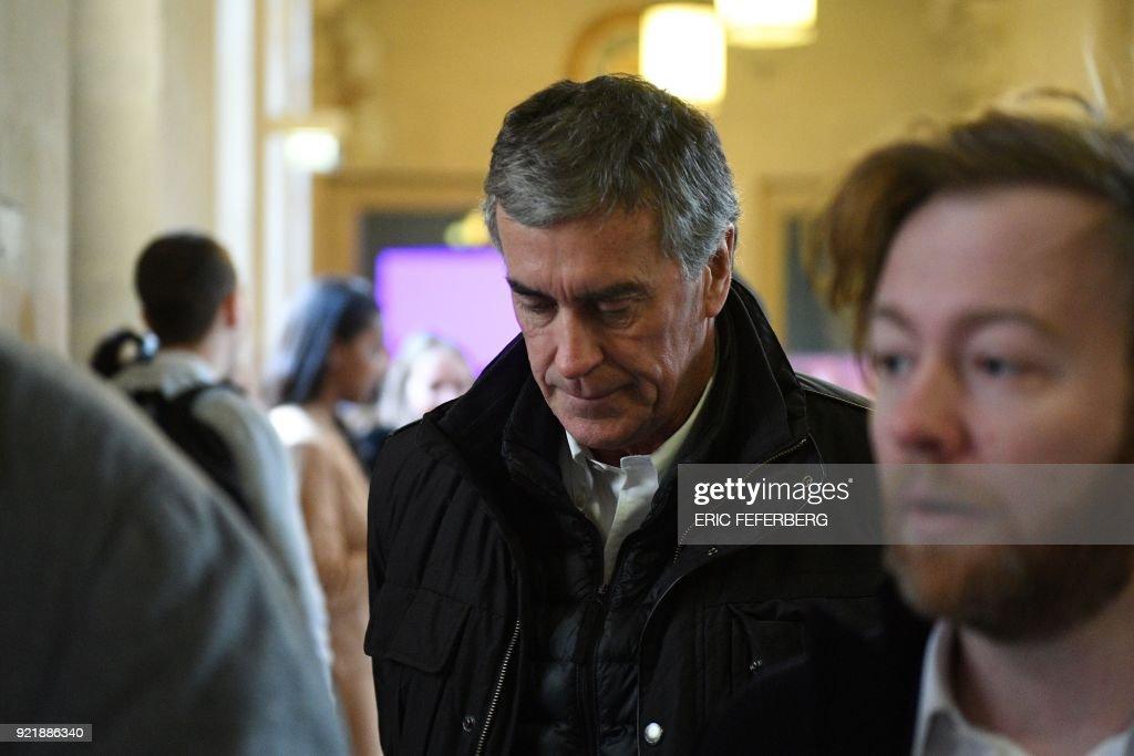 FRANCE-JUSTICE-POLITICS-COURT-FRAUD : News Photo