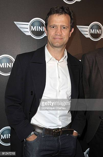 French former rugby man Fabien Galthie attends the Mini Austin 50th Anniversary party at Piscine Molitor on September 29 2009 in Paris France